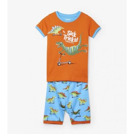 Pijama niño 2 piezas M/C DINO PATIN algodón orgánico
