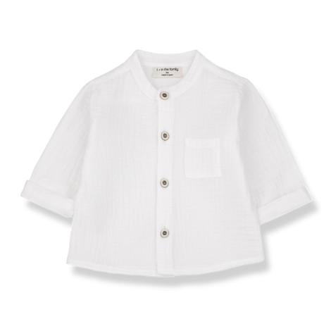 Camisa mao bebé BASTIAN  en CRUDO