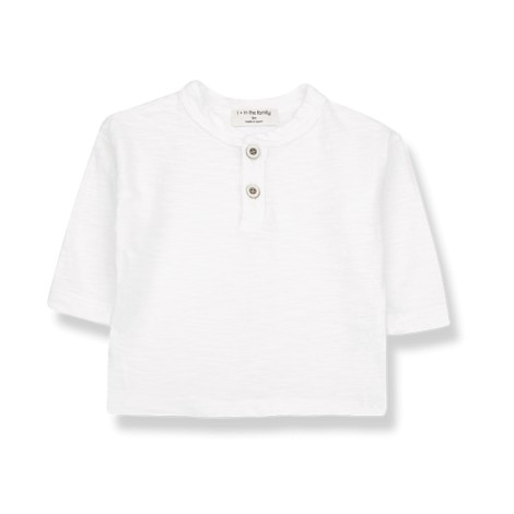 Camiseta bebé DONATO manga larga en CRUDO