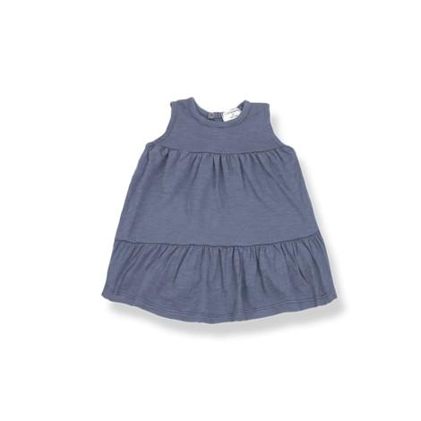 Vestido bebé LOLITA sin mangas en INDIGO