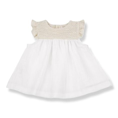 Vestido bebé ROMITA  en NATURAL