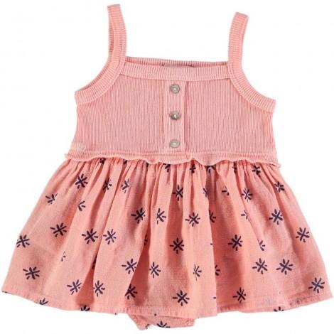 Vestido bebé SUSI combi SUN PRINT en APRICOT
