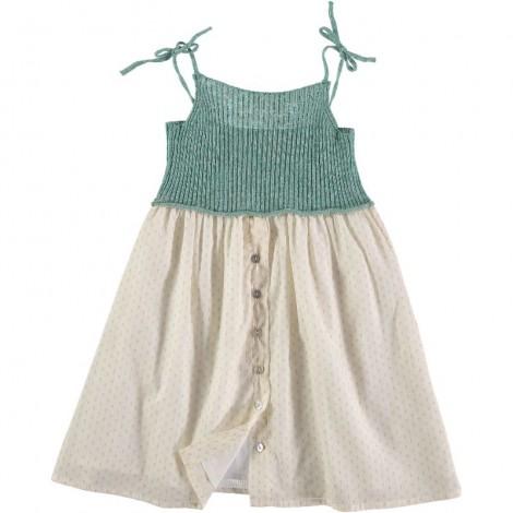 Vestido niña ALBERTA KNITT&VOILE en MINT