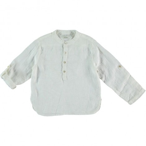Camisa mao niño PAUL en WHITE