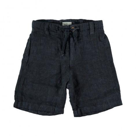 Pantalón corto lniño MARCO BERMUDA en NUIT
