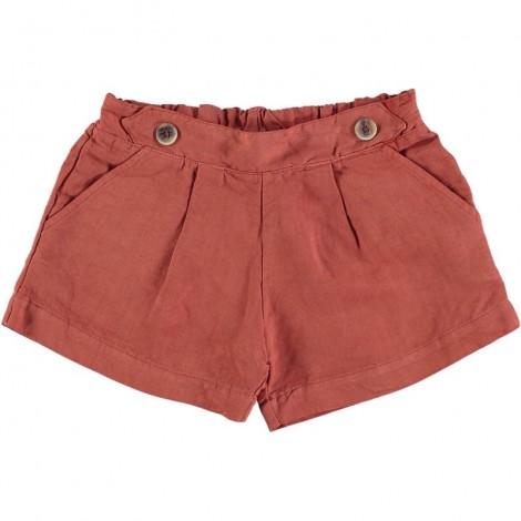 Pantalón corto ROMA SHORT en TERRACOTTA