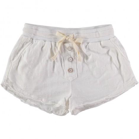 Pantalón corto niña MAYLIS SHORT en WHITE