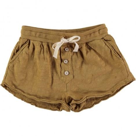 Pantalón corto niña MAYLIS SHORT en MOUTARDE