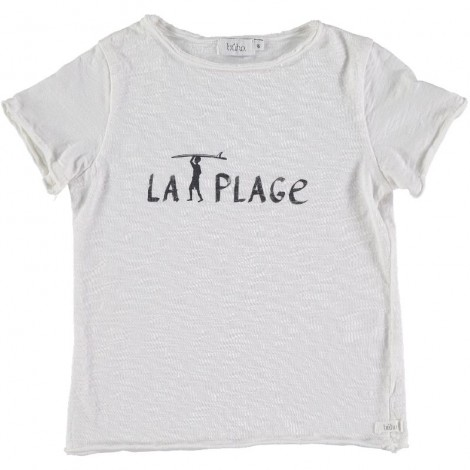 "Camiseta infantil CESAR ""LA PLAGE"" en WHITE"