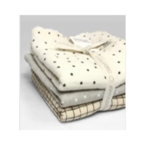 Pack toallitas bebé RAFFIA-MSB-POLKA DOT