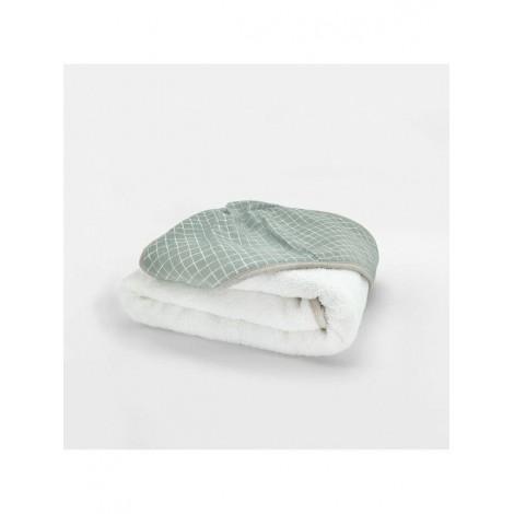 Capa de baño MINT GRID toalla BabyShower