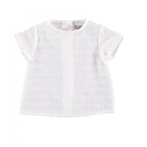 Camisa BIRKIN de bebé Crudo Normandie