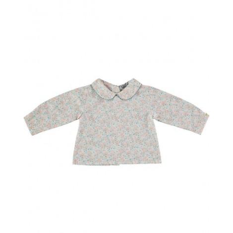 Camisa BUBU de bebé Floral Normandie