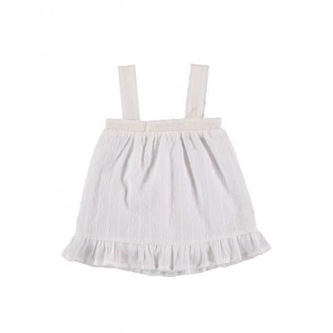 Vestido CHARLOTTE de bebé Crudo Normandie