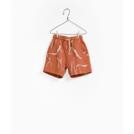 Pantalón short infantil punto en ARGILE