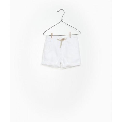 Pantalón corto infantil en WHITE
