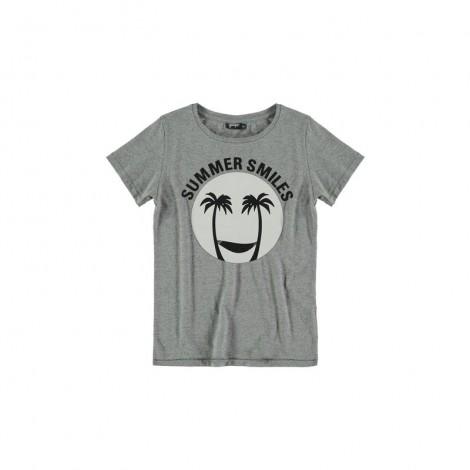 Camiseta infantil solar M/C SUN gris vigoré