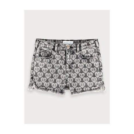 Pantalón shorts niña tejanos tiro alto Yours Truly