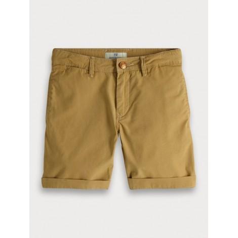 Pantalón niño short chino de algodón en arena