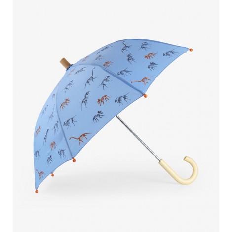 Paraguas infantil SILHOUETTE DINOS esqueletos