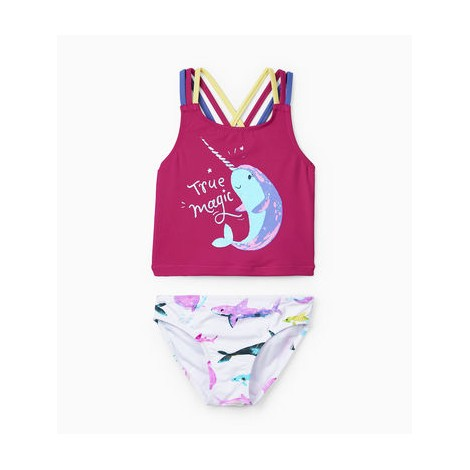 Conjunto bikini niña y top tirantes SEA FRIENDS