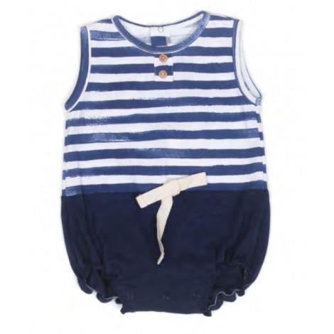 PELELE MIXTO PANCHO bebé en NAVYSTRIPE