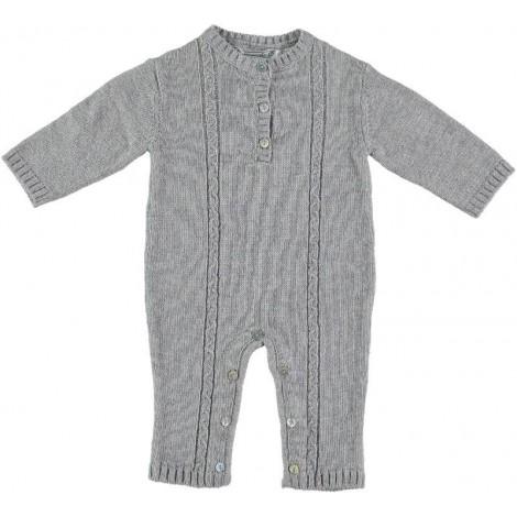 Pelele CLAUS bebé lana gris Normandie