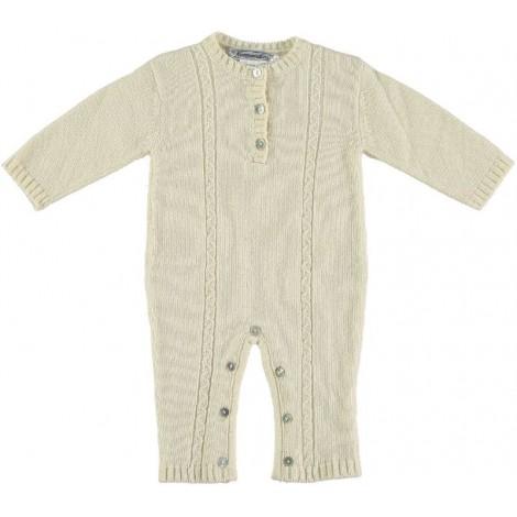 Pelele CLAUS bebé  lana marfil Normandie