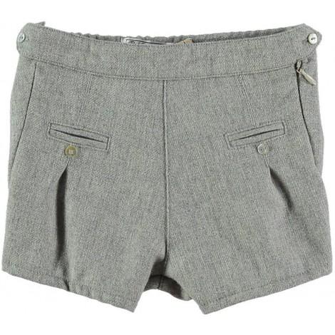 Pantalon bebé MARCUS corto gris Normandie