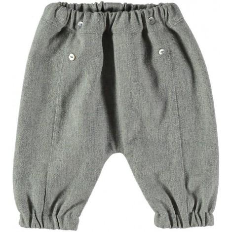 Pantalón bebé OTTO largo gris Normandie