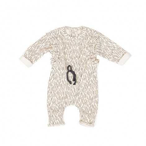 Pelele CLARA bebé en CREAMRAINING