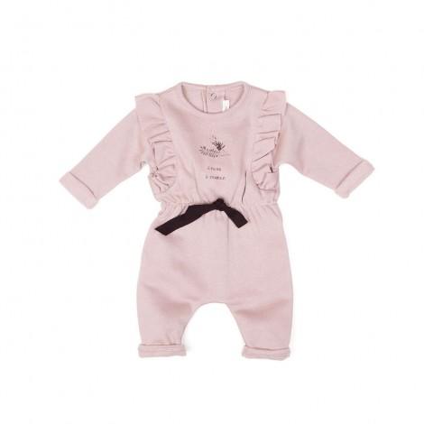 Pelele CLARA bebé en ROSE