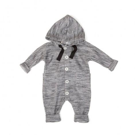Pelele capucha FAUNO bebé en GREYFUME