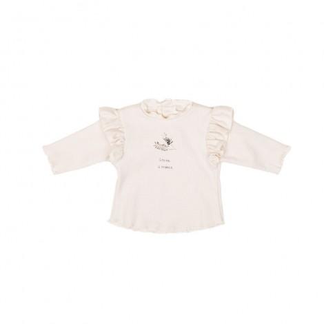 Camiseta SHIRLEY bebé en LATTE