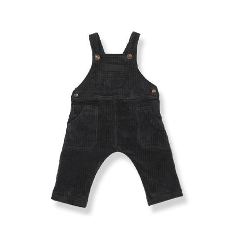 Peto bebé bolsillos DORTMUND pana en NEGRO