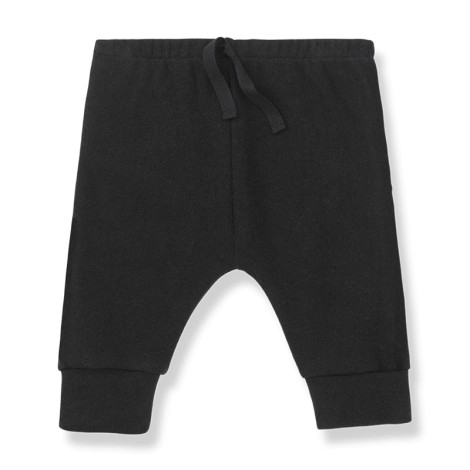 Pantalones bebé TORINO relax en NEGRO