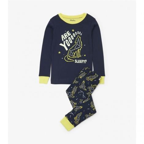 Pijama niño CONSTELLATION fluorescente orgánico