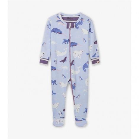 Pijama bebé entero POLAR CRITTERS algodón orgánico