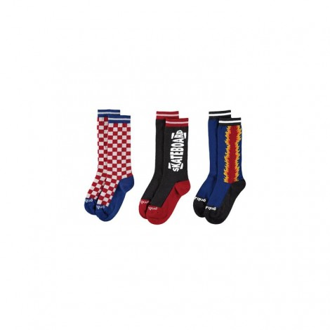 Pack 3 calcetines RACING infantil divertidos