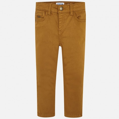 Pantalón niño 5b slim fit color Caramelo