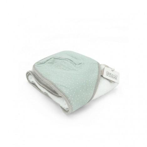 Capa de baño MINT DOT toalla bebé de BabyShower