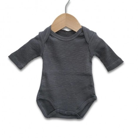 Body organic cotton canalé BOULDER