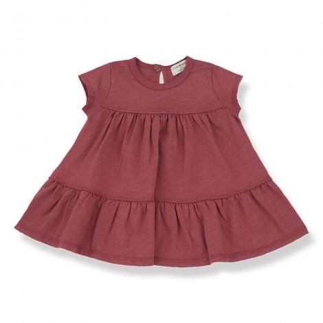 Vestido ALTAMURA de bebé en ROJO