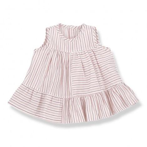 Vestido PORTOFINO de bebé en ROSA