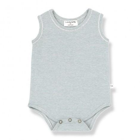 Body TAMARIU de bebé en MENTA
