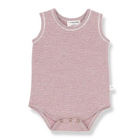 Body TAMARIU de bebé en ROJO