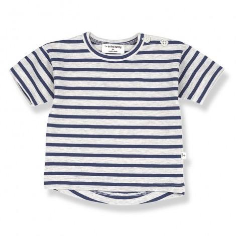 Camiseta m.c. VENCE de bebé en AZUL