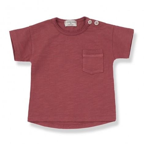 Camiseta m.c. VICO de bebé en ROJO