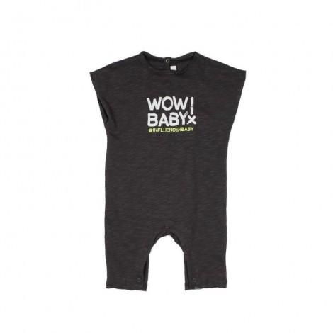 Pelele GRILLO bebé en MINERAL