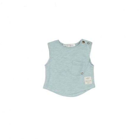 Camiseta sin mangas MEYER bebé en MINT